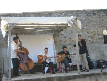 Jazz Manouche Nantes Pays de Loire Bretagne