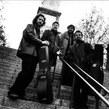 groupe de jazz manouche La Pompe en 2006
