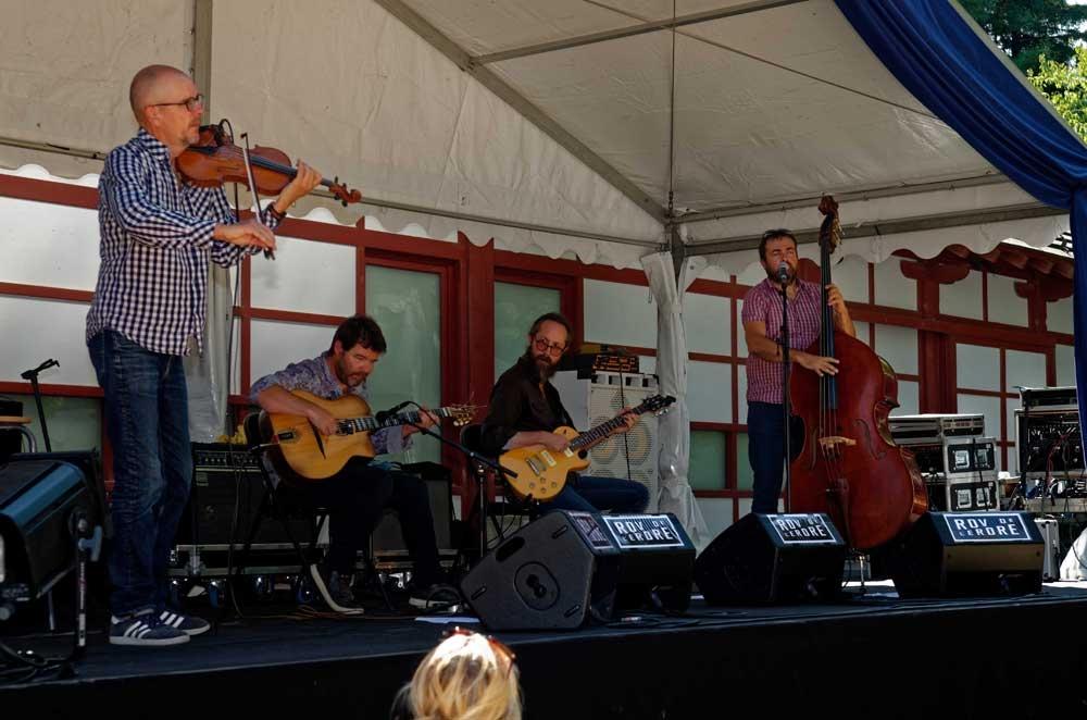 Concert LA Pompe Jazz manouche festival