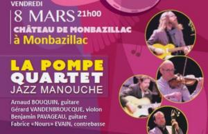Concert jazz manouche La Pompe